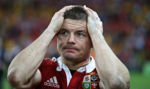 British and Irish Lions's Brian O'Driscoll after the match  22/6/2013
