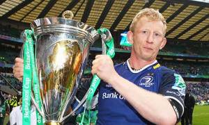 Leo Cullen, the Leinster captain, is delighted to play for the supporters