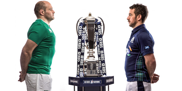Ireland-Scotland-Captains